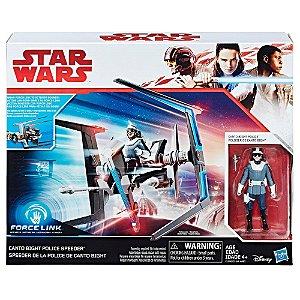 Star Wars Bright Police Speeder Force Link Hasbro C1248