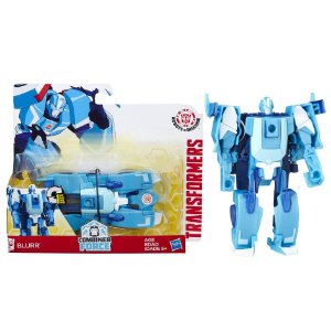 Novo Transformers Combiner Force Blurr One Step Hasbro B0068