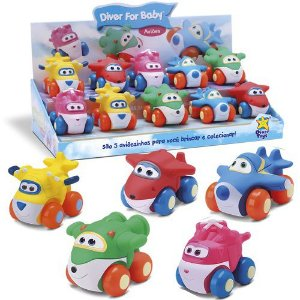 Brinquedo Infantil Avião Diver For Toys Divertoys 8041