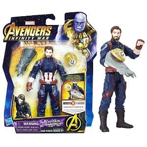 Novo Boneco Marvel Vingadores Capitao America Hasbro E0605