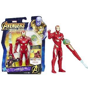 Novo Boneco Marvel Vingadores Homem de Ferro Hasbro E0605