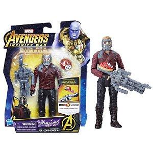 Novo Boneco Marvel Vingadores Star Lord Hasbro E0605