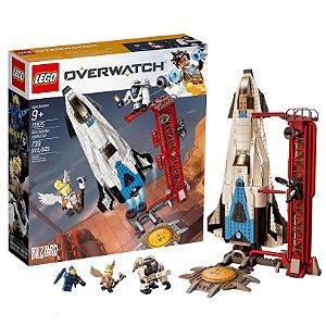Novo Brinquedo Lego Overwatch Ponto de Vigia Gibraltar 75975