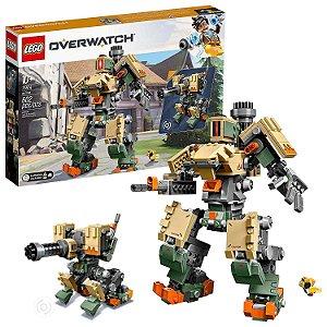 Novo Blocos de Montar Lego Overwatch Bastion 602 Peças 75974