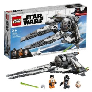 Lego Star Wars Tie Interceptor Black Ace 396 Peças 75242