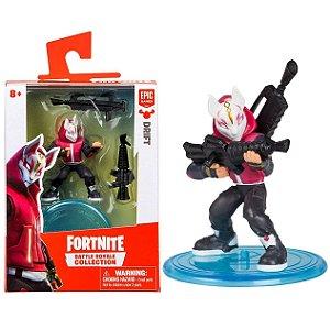 Boneco Mini Figura Fortnite Drift e Acessorios Fun 84706