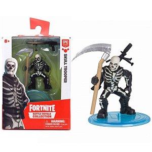 Boneco Mini Figura Fortnite Skull Trooper e Acessorios 84706