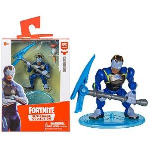 Boneco Mini Figura Fortnite Carbide e Acessorios Fun 84706