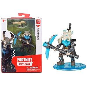 Boneco Mini Figura Fortnite Ragnarok e Acessorios Fun 84706