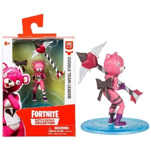 Boneco Mini Figura Fortnite Cuddle Team Leader Fun 84706