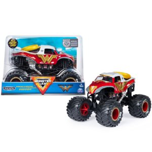 Brinquedo Veiculo Carro Monster Jam Wonder Woman Sunny 2022