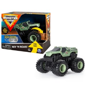 Brinquedo Monster Jam Rev n Roar Soldier Fortune Sunny 2023