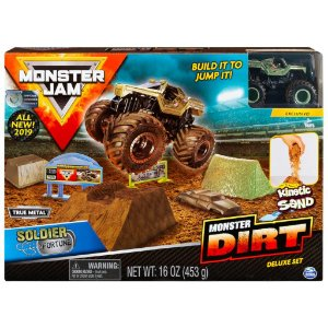 Monster Jam Soldier Fortune Monster Dirt Deluxe Sunny 2024