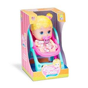 Boneca Little Dolls Passeio 2 em 1 Divertoys 8027