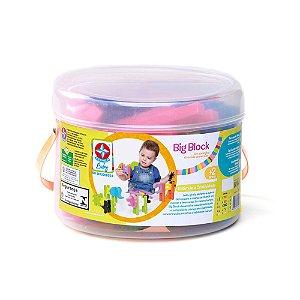 Brinquedo Infantil Blocos Animais Zoologico Big Blok Estrela