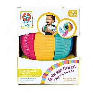 Brinquedo Infantil Bola em Cores de Montar Estrela Baby