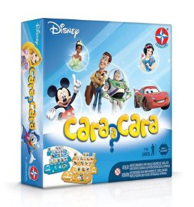 Brinquedo Jogo de Tabuleiro Cara a Cara Disney Estrela