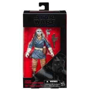 Novo Boneco Star Wars The Black Series Capitao Cassian B3834