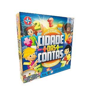 Novo Brinquedo Jogo de Tabuleiro Cidade das Contas Estrela