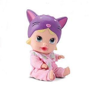 Boneca Little Dolls Sonhinho Gatinho Divertoys 8019
