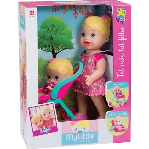 Boneca My Little Collection Tal Mãe Tal Filha Divertoys 8020
