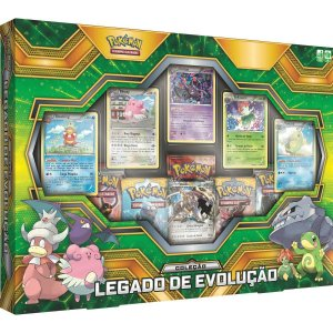 Box Cards Pokemon Tcg Coleçao Legado De Evolução Copag