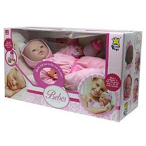 Boneca Pijama De Ursinho Coleção Bebês Divertoys 8008