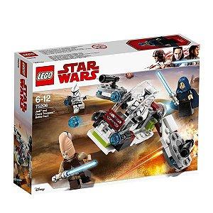 Brinquedo Lego Conjunto De Combate Jedi Clone Troopers 75206