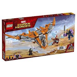 Brinquedo Lego Super Heroes Thanos : a Batalha Final 76107