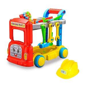 Caminhão com Ferramentas Mechanic Truck 32 Peças Maral 2022