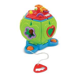 Brinquedo Pentaformas Solapa com Som Cor Surpresa Maral 4011