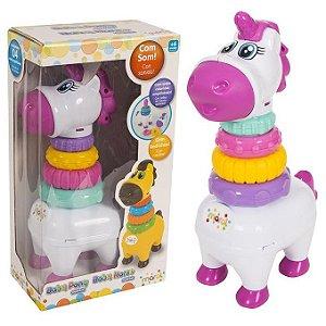 Brinquedo Infantil Baby Pony Didático com Som Maral 4131