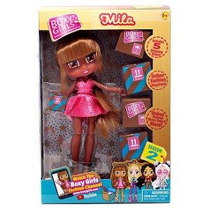 Boneca e Acessorios Boxy Girl Season 2 Mila Candide Wkq29