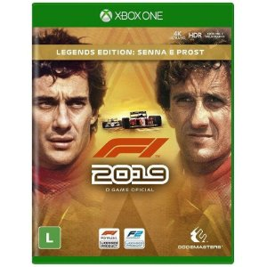 Jogo Novo Midia Fisica F1 2019 Legends Edition para Xbox One