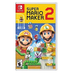Jogo Midia Fisica Super Mario Maker 2 para Nintendo Switch