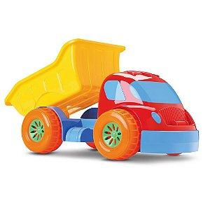 Caminhão Basculante Robustus Kids Diver Toys 670