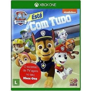 Jogo Midia Fisica Patrulha Canina Esta com Tudo pra Xbox One