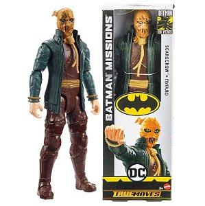 Novo Boneco DC Batman Missions Espantalho 30cm Mattel Fvm69