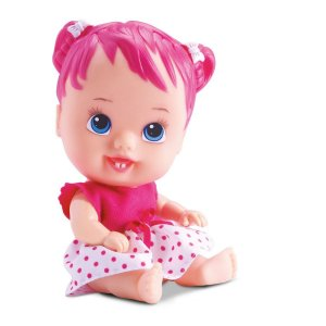 Boneca Little Dolls Cores e Sabores Cereja  Divertoys 672