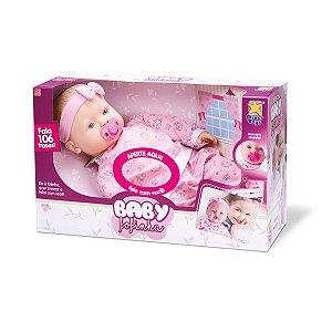 Boneca Baby Fofinha Agasalho 106 Frases Da Divertoys 674