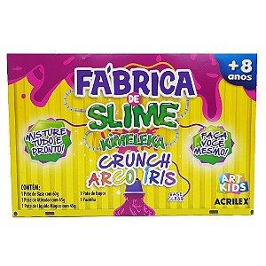 Brinquedo Fabrica de Slime Kimeleka Arco Iris Acrilex