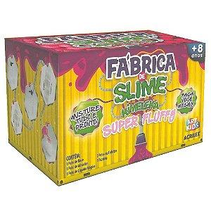 Brinquedo Fabrica de Slime Kimeleka Super Fluffy Acrilex
