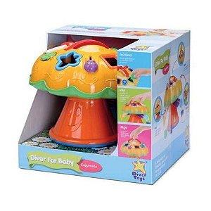 Brinquedo Didático Cogumelo Diver For Baby Divertoys 697