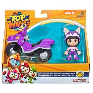 Boneco Top Wings Moto da Betty Bat Playskool Hasbro E5281