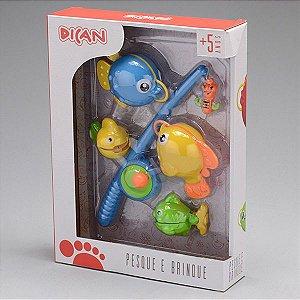 Brinquedo Infantil Educativo Pesque e Brinque Dican 5023