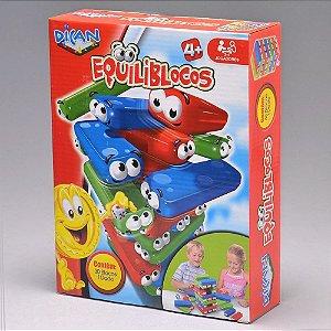 Brinquedo Blocos de Empilhar Equiliblocos Dican 5063
