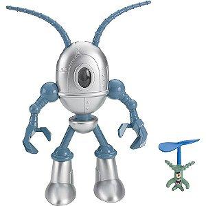 Imaginext Bob Esponja Plankton e Robo Chumbot Nick W9586