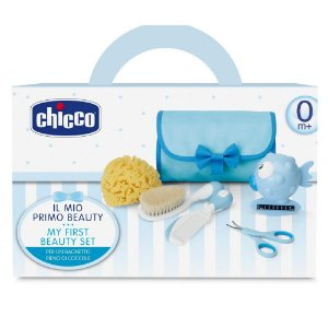 Kit Conjunto de Higiene My First Beauty Set Menino Chicco