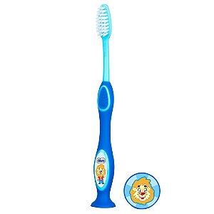 Escova de Dentes Infantil Milk Teeth 3-6 anos Azul Chicco