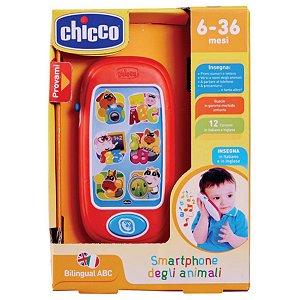 Brinquedo Smartphone Animal Infantil com Sons e Luzes Chicco
